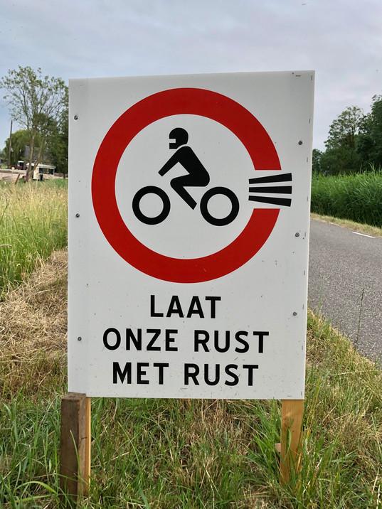 ¨Natuurlijk Nieuwkoop blij met motorenverbod in de Meije. Nu de Amstelkade nog¨