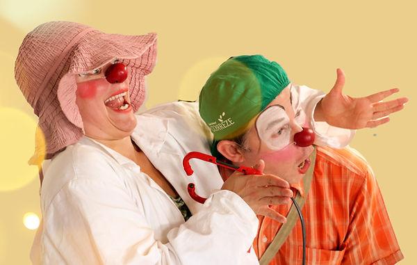 Clown Hospitalier Olga et Gringo