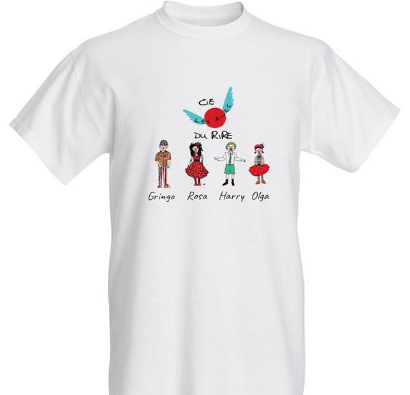 T.shirt association Cie Les Ailes du rir