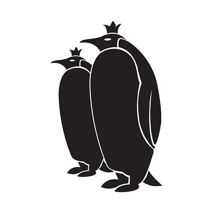 mama en papa pinguïn