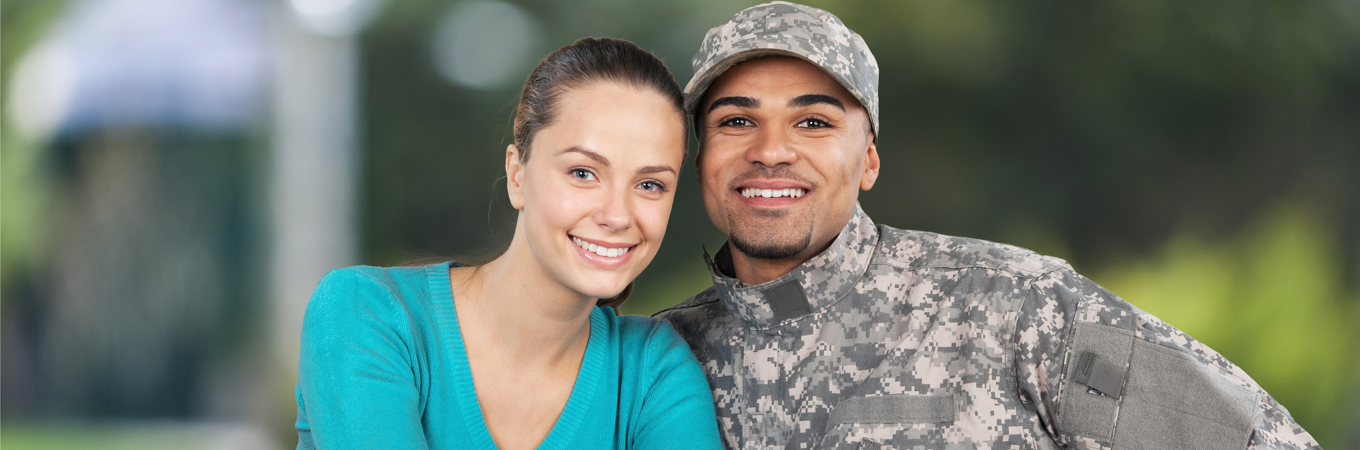 veteran couple