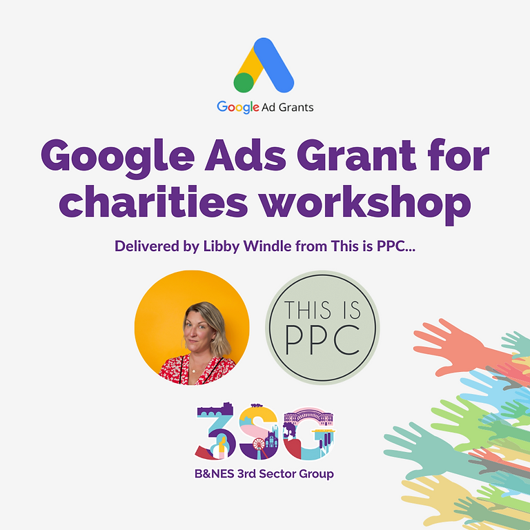 Google Ads Grant for charities workshop