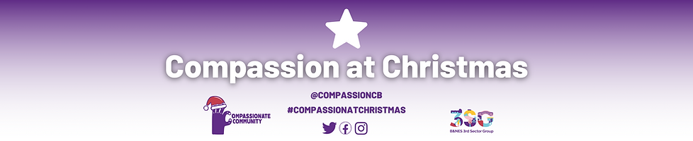 Compassion at Christmas Website Homepage