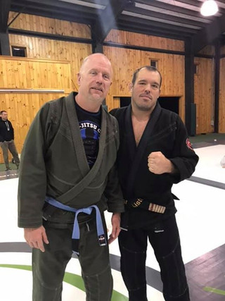 Dean Lister, world class jiu jitsu instr