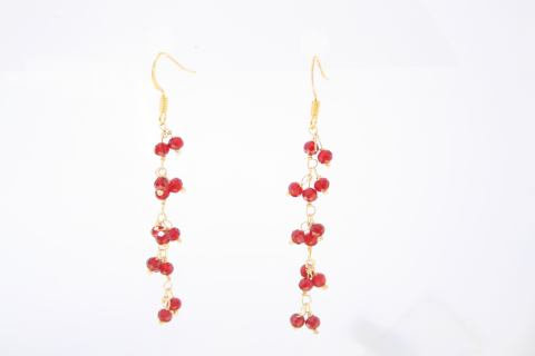 Holly Berry Earrings