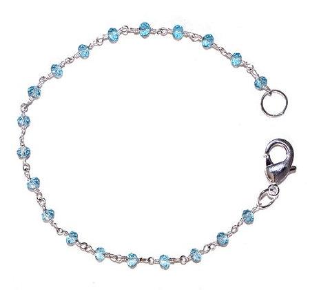 """Little Sparklers"" - Blue Topaz Bracelet"