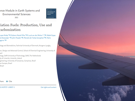 Book chapter on Sustainable Aviation Fuels (SAFs)