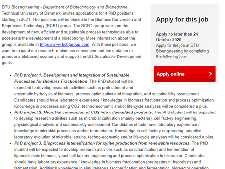 We are hiring!! 4 new PhD positions available in our group