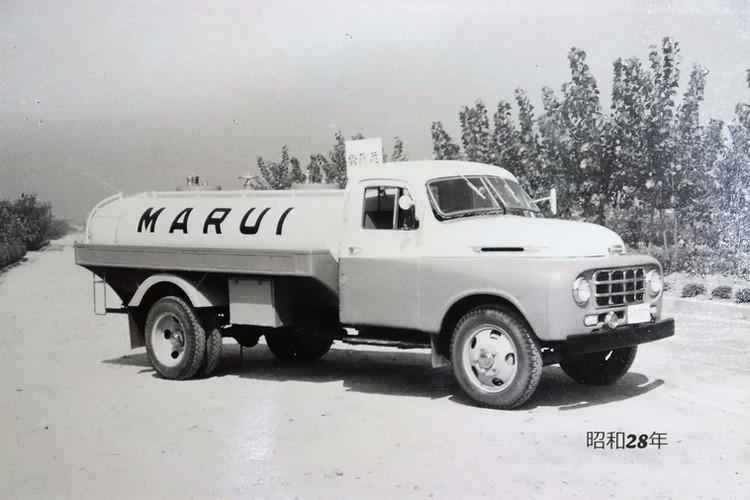 昭和28年に使用していた車両