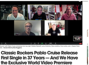 Classic Rockers Pablo Cruise Release First Single in 37 Years Exclusive World Video Premiere
