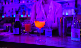 Drinks glow off Ponce.