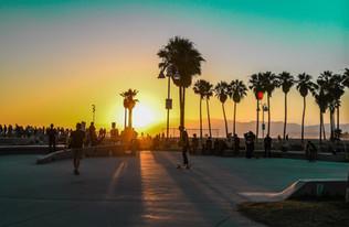 Venice Beach Skatepark.