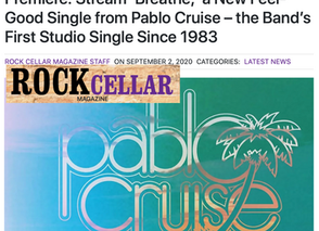Rock Cellar Magazine Premiere: Stream 'Breathe,' a New Feel-Good Single from Pablo Cruise!