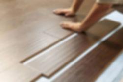 Habitación suelo de madera