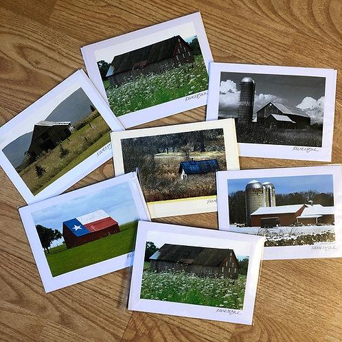 Barns Collection - Original Photograph Greeting Cards
