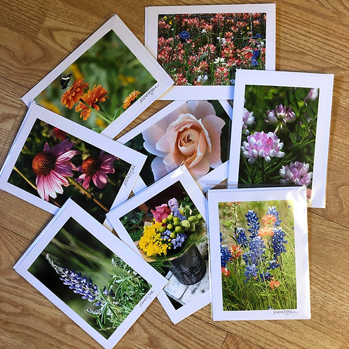 Flower Collection - Original Photograph Greeting Cards
