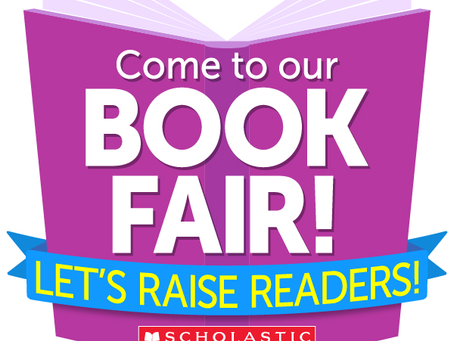 Shop at our online  Scholastic Book Fair