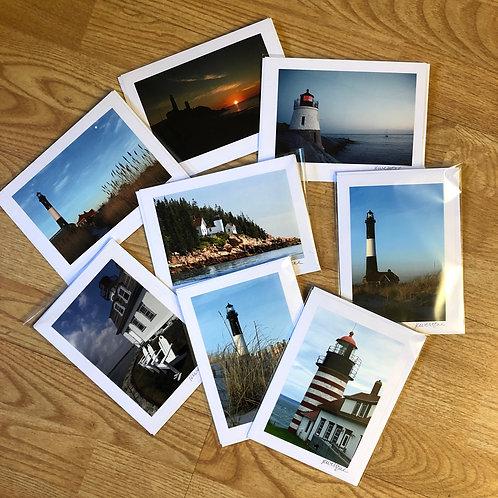 Lighthouse Collection - Original Photograph Greeting Cards