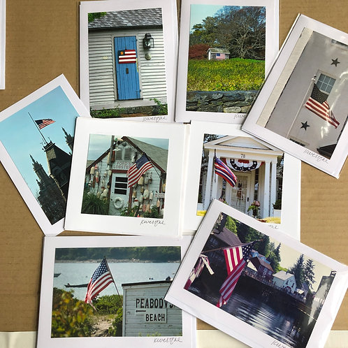 Patriotic Collection - Original Photograph Greeting Cards
