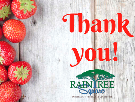 A Big Raintree 'Thank You'