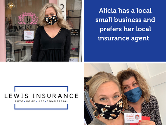 Local Boutique Owner Finds Insurance Support
