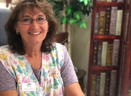 Christine Bryant enjoys helping others at Raintree Square