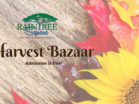 Raintree Square's Harvest Bazaar/Trick-or-Treat