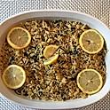 Greek Lemon Rice (Spanakorizo)