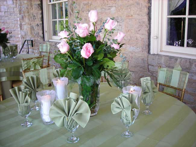 Table Floral Decoration