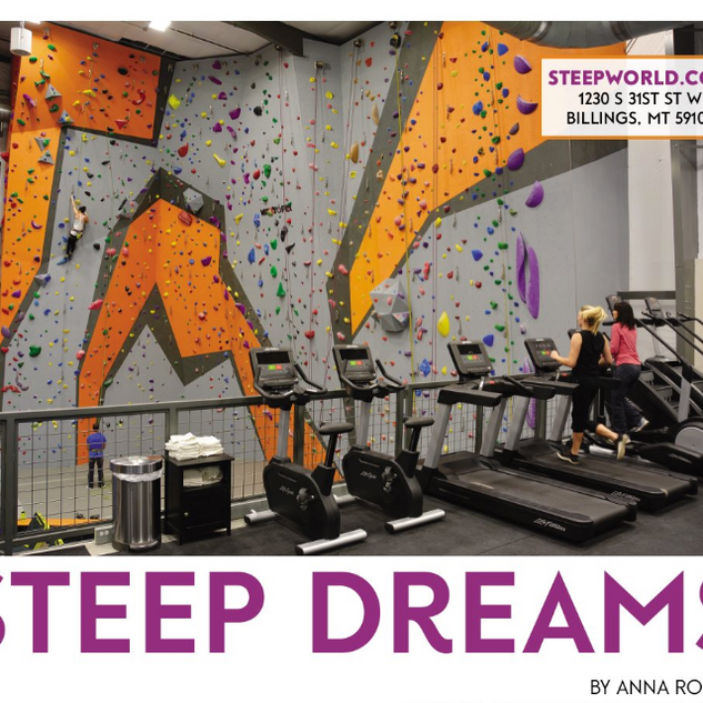 Steep Dreams for Simply Family Magazine