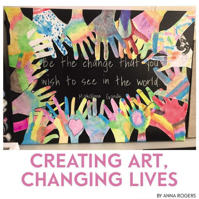 Creating Art, Changing Lives for Simply Family Magazine