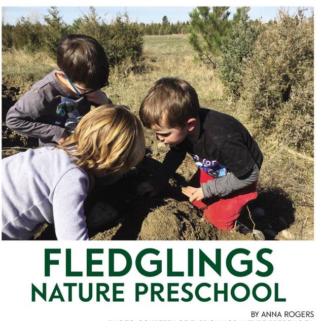Fledglings Nature Preschool for Simply Family Magazine