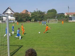ŠK FK Danubia Hrubý Šúr - ŠKO Miloslavov U11 (0:12) 1:24