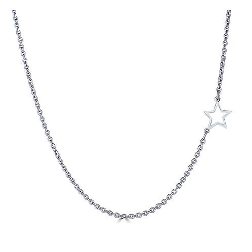 Side Mini Star Necklace