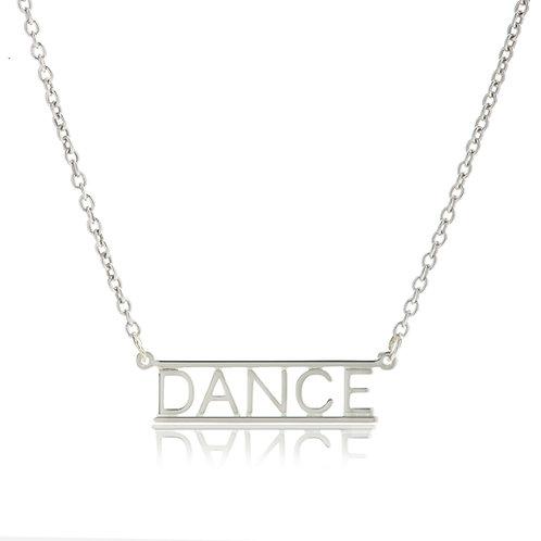 Bar Necklace- DANCE