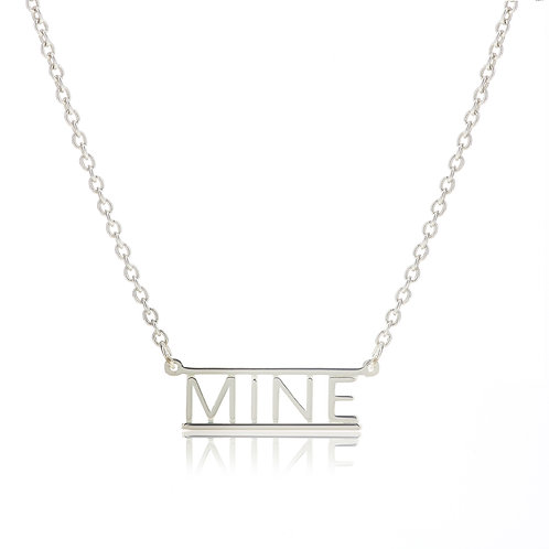 Bar Necklace- MINE