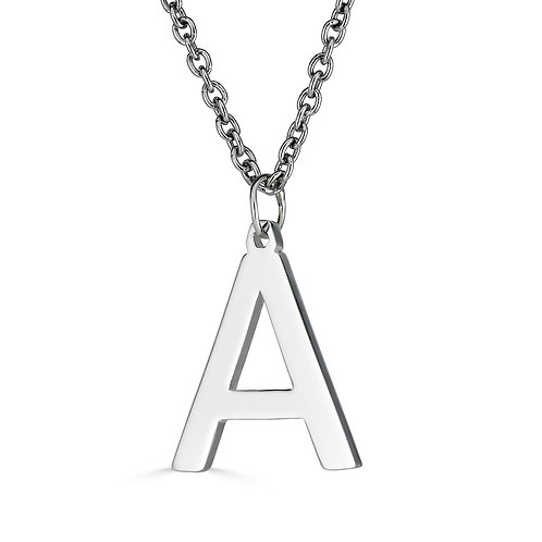 Big Bold Statement Initial Necklace