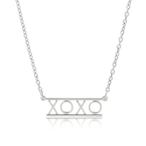 Bar Necklace- XOXO