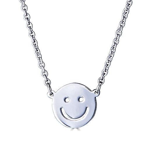 Smiley Face Pendant Necklace