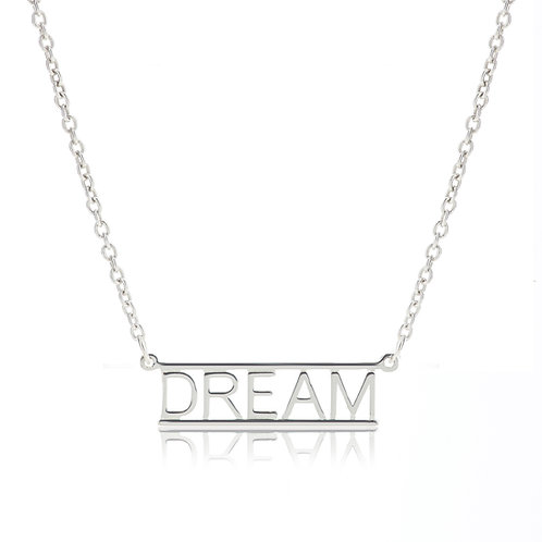 Bar Necklace- DREAM