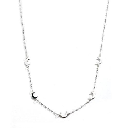 5 Moon Mini Necklace