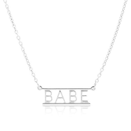 Bar Necklace-BABE
