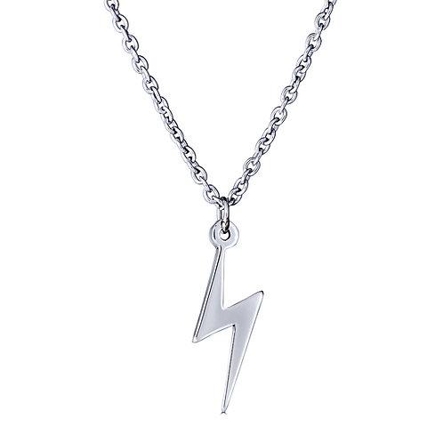 Thunderbolt Pendant Necklace