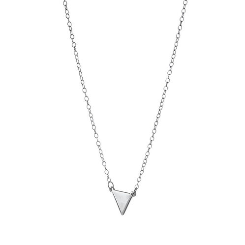 Triangle Solid Necklace