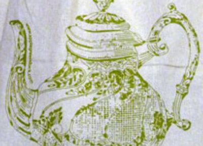 teapot calico sack