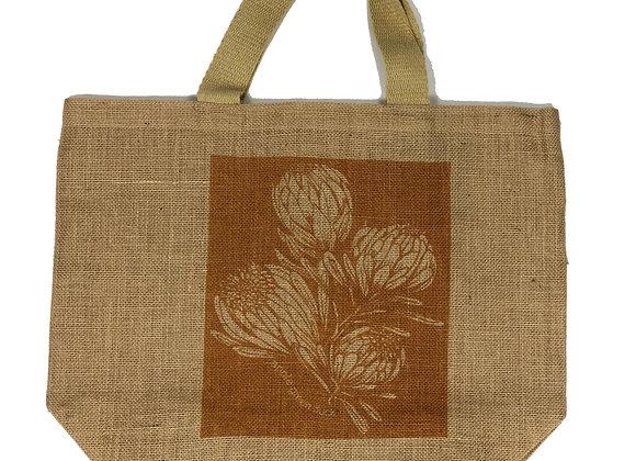 Grocer Bag King Protea Ochre