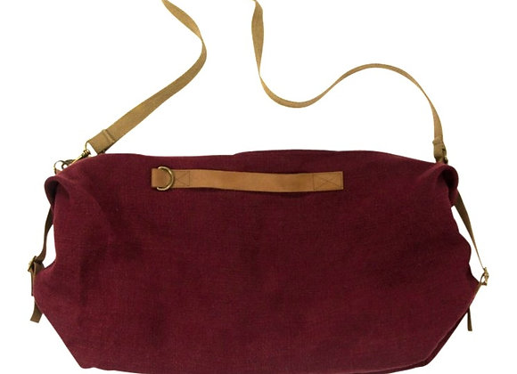 NEW & IMPROVED Sport/Overnight Bag Claret