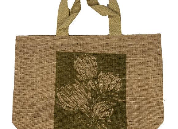 Grocer Bag King Protea Olive