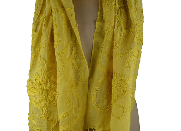 Embroidered Citron