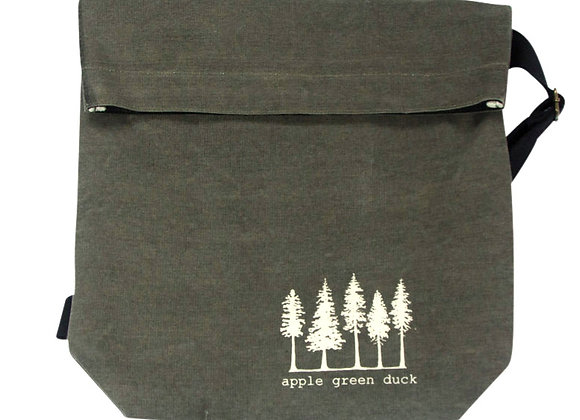 Canvas Sling Tote Olive